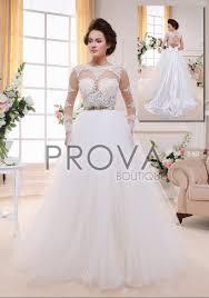 boutique robe de mari e robe de mariée princesse tout en dentelle à manches longues