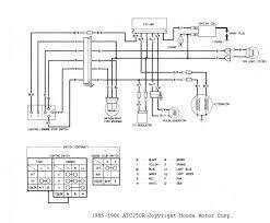 distributor wiring diagram honda fresh atc 250r wiring diagrams and