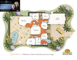 Waterfront Floor Plans by Lely Majors Floorplans U2013 Naples Fl Waterfront And Resort Homes