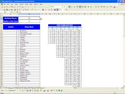 How To Set Up Spreadsheet In Excel Printable Tournament Bracket Excel Templates