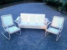 vintage porch glider u2013 keepwalkingwith me