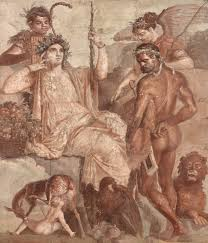 roman wall painting in pompeii the japan times wall paintings with red architecture second half of the 1st century bc boscoreale
