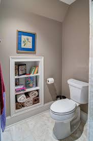 15 knockout bathroom storage ideas that won t break the bank 7 built in storage unit