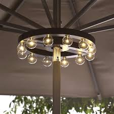 Retro Patio Umbrella by Industrial Style Retro Small Umbrella Chandelier Bar Elegant