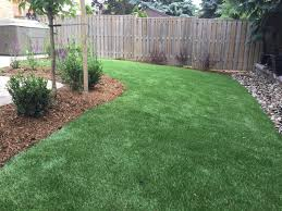 beautiful backyard in mississauga awesome artificial grass image