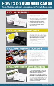Tips For Designing A Business Card Why The Business Card Is Thriving Business Insider