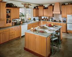 Kraftmade Kitchen Cabinets by Furniture Elegant Kitchen Island With Kraftmaid Kitchen Cabinets