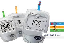 Alat Tes alat cek gula darah kolesterol asam urat easy touch