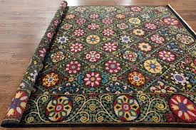 9x11 Area Rugs 9x11 Area Rugs New Handmade Knotted Blue Floral Wool
