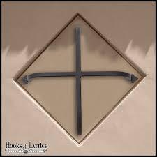 decorative iron window grills accents hooks lattice