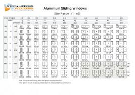 Bedroom Window Size by Aluminium Sliding Windows U2013 Stock Windows And Doors