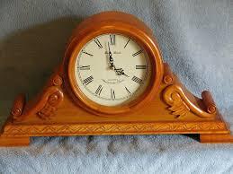 Mantle Clock Repair Bulova B1839 Frank Lloyd Wright Willits Mantel Clockantique Wall