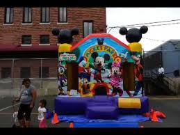 mickey mouse clubhouse bounce house mickey mouse bounce house rental