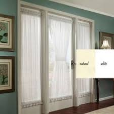 Blinds Or Curtains For French Doors - banded bamboo panel family room sliding glass door home is