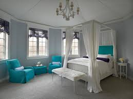 best purple bedrooms for teenage girls with blue interior design