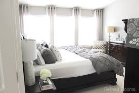 master bedroom makeover reveal my home refresh refined rooms