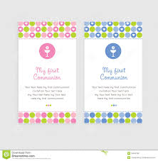 First Communion Invitations Cards First Communion Card Royalty Free Stock Images Image 23542189
