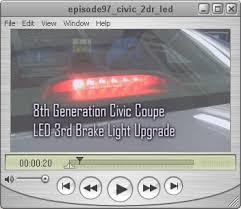 2008 honda civic third brake light diyhonda com video podcasts podcast episode 97 civic coupe led