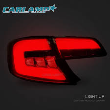 2014 Toyota Camry Engine Diagram For Toyota Camry 2012 2014 Led Drl Headlights U0026 Smoked Black Tail