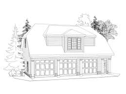 garage apartment plans 3 car garage u0026 studio apartment 053g