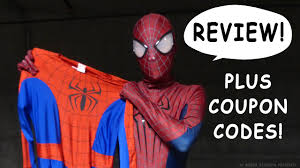 halloween costumes com coupon code spider man reviews