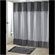 curtains u0026 drapes fabulous brown and blue shower curtain awesome
