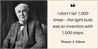 What Year Did Thomas Edison Invent The Light Bulb Three Famous Entrepreneurs Who Can Teach You A Lot About Failure