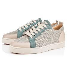 rantulow flat version brown rafia men shoes christian louboutin