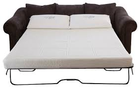 double bed sofa sleeper endearing sofa sleeper mattress natures sleep gel memory foam with