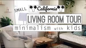 minimalist living room small minimalist living room tour minimalism with kids youtube