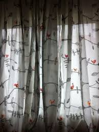 Tree Curtains Ikea Eivor Curtains From Ikea I Colored In The Birds And The Leaves
