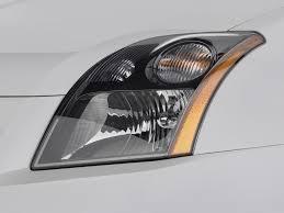 nissan headlights image 2009 nissan sentra 4 door sedan man se r spec v headlight