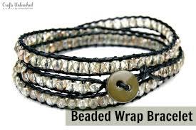 wrap bracelet tutorials images Nice looking bead wrap bracelet diy tutorial crafts unleashed jpg