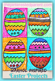 warhol inspired easter art u2013 the pinterested parent
