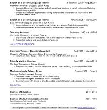 Foreign Language Teacher Resume Cv Examples Language Skills