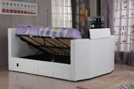 Ottoman Tv Bed New5ft King Size Tv Ottoman Bed Black Brown White Frame Only Or