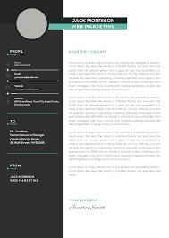 marketing resume template premium marketing resume cv template