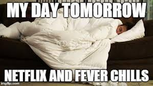 Fever Meme - netflix and fever chills imgflip