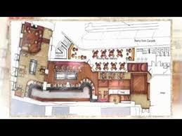 resturant floor plan 3d restaurant floor plan youtube