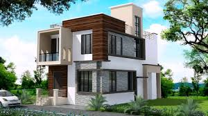 modern duplex house designs in india youtube