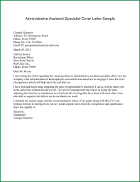 Thank You Letter After Job Interview Executive Assistant cover letter for an administrative assistant position