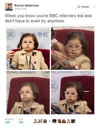 Bbc Memes - daughter of bbc interview dad becomes a fashion icon daily mail