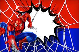 spiderman invitation cards paperinvite