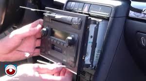 audi a4 2004 radio radio removal audi a4 s4 2002 2006 with symphony ii radio