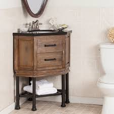 Bathroom Vanities Granite Top Laurel Foundry Modern Farmhouse Valensole 32 Single Corner Bath