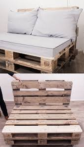 Patio Furniture Out Of Wood Pallets by The 25 Best Pallet Sofa Ideas On Pinterest Palette Furniture