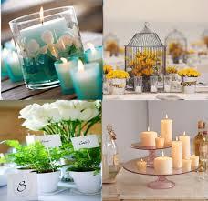 centre de table mariage fait maison décoration florale table mariage à faire soi même meilleure