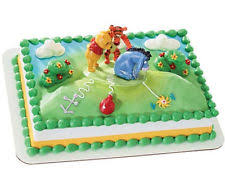 winnie the pooh baby shower cakes baby shower winnie the pooh party supply cake toppers ebay