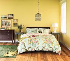 Light Yellow Bedroom Walls Bedroom Bright Walls Duvet And Feminine
