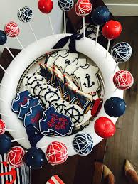 ahoy its a boy a nautical themed baby shower u2014 denver darling